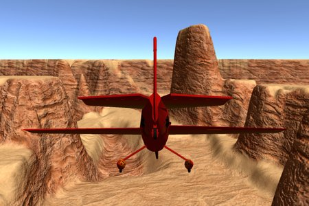 3D Airplane Race
