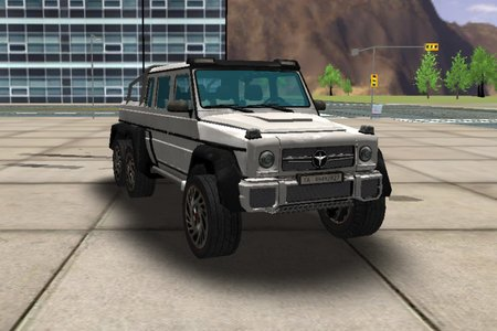 6x6 Offroad Truck Driving