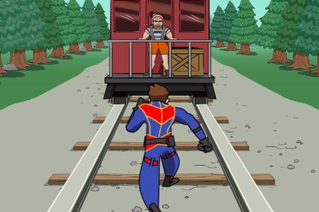 Danger & Thunder: Train Rescue