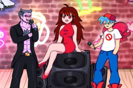FNF: Anime (Friday Night Funkin', Week 1-2)