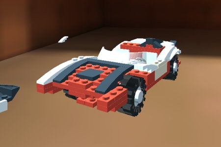 LEGO Car Crash Micromachines
