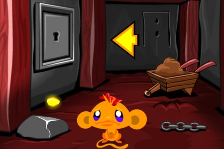 Monkey GO Happy: Stage 441 — Gold Mine