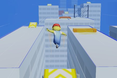 Parkour Race: Freerun