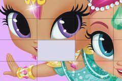 Shimmer and Shine: Jigsaw Puzzle