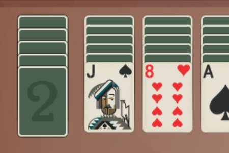 Spider Solitaire: 2 Suits