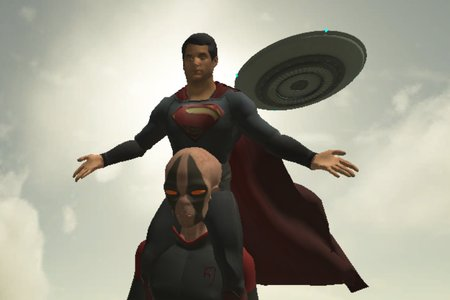 Superman: Theme is Aliens