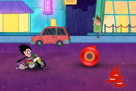 Teen Titans Go! To The Movies: Riders Block