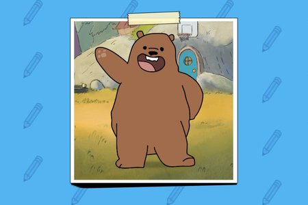 We Bare Bears: How to Draw Grizzly